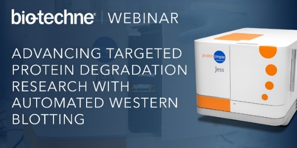 Watch How Bioscience Research Teams are Advancing Targeted Protein Degradation Research with Automated Western Blotting.