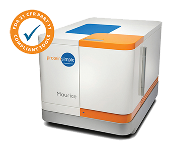 Maurice is an FDA 21 CFR Part 11 Compliant Instrument